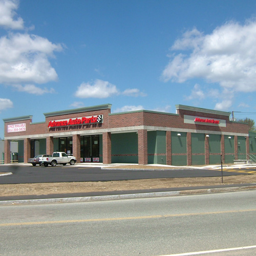 New Retail Building