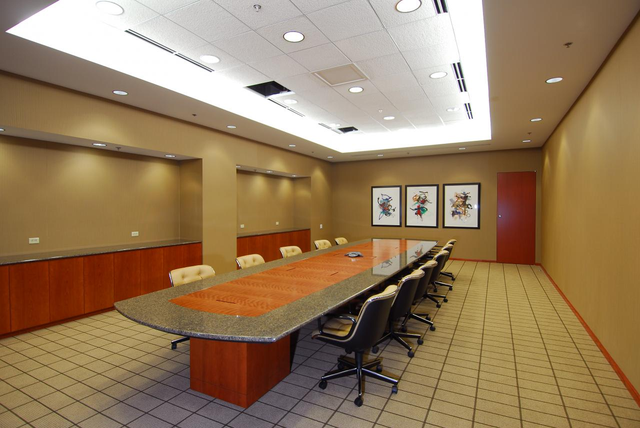 Conference Room of Pepsi Bottling of New York Bronx Distribution Center (Bob Vergara - Photographer)