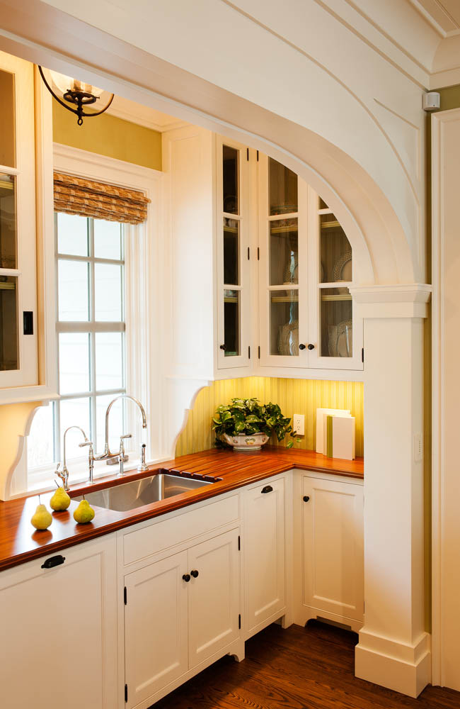 Custom Pantry by Crown Point Cabinetry