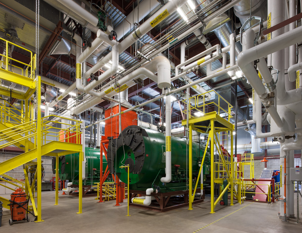 Colby College, Central Heating Plant Expansion (with Biomass) - LEED Certified (Gold)