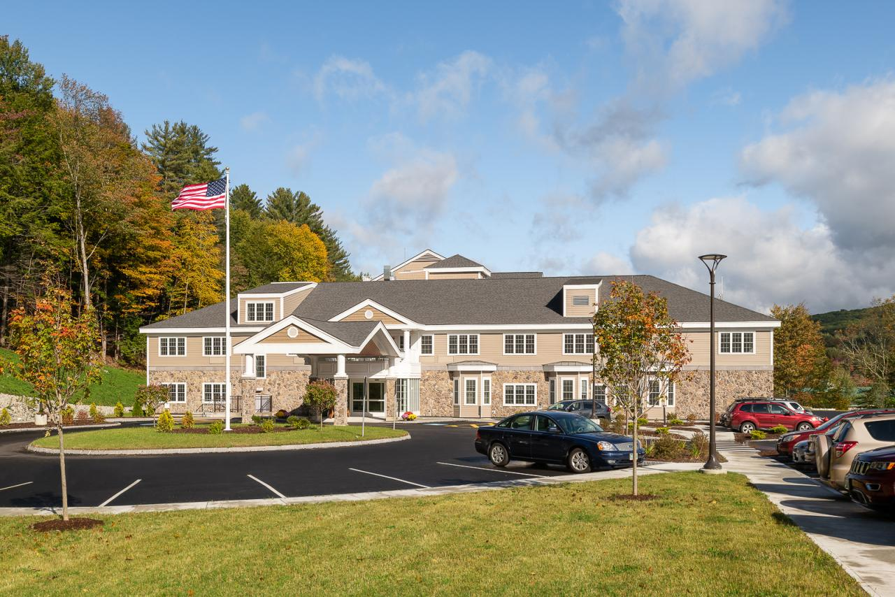 New Hampshire Architecture Photography of Hillside Nursing Home