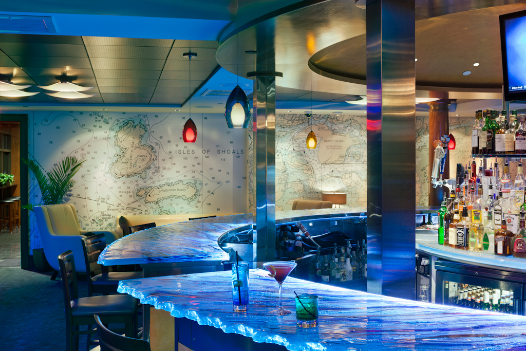 restaurant, waterfront, interior design, Portsmouth
