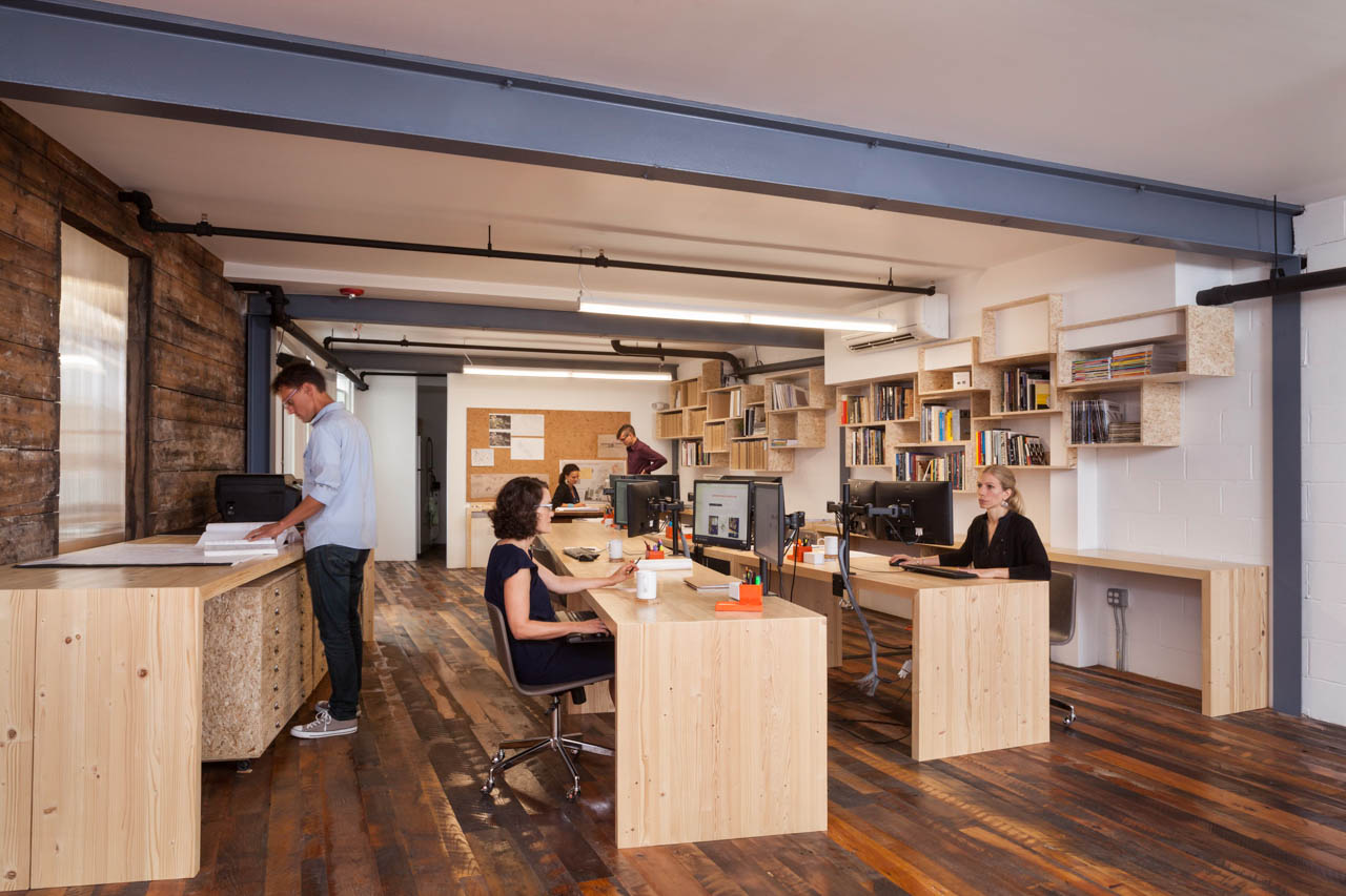 Architecture firm office, Portsmouth, NH | Client: Manypenny Murphy Architects