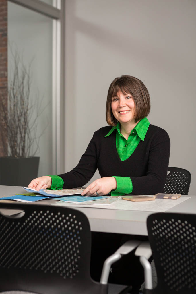 Interior Designer Portrait, Boston, MA   Client: Lavallee Brensinger Architects
