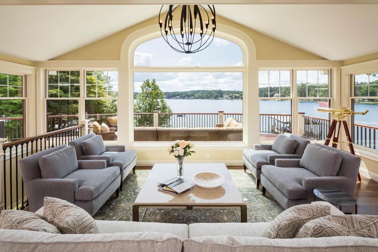Residential Interior, Gilford, NH | Client: Lauren Milligan Design