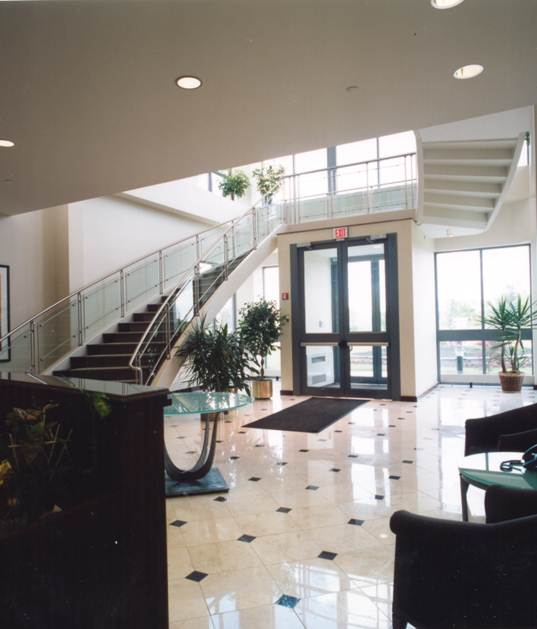 Lobby of Offices for Beer Distributor Offices in Philadelphia