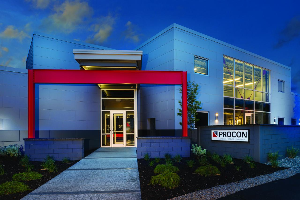 PROCON new architecture and engineering department