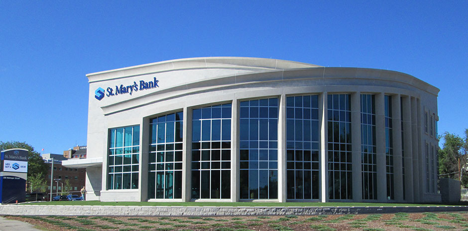 Civl Engineering Services for: St Mary's Bank Headquarters - Manchester, NH