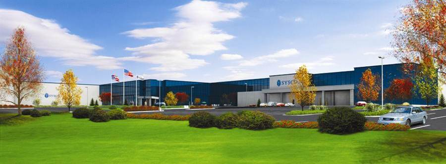 Rendering of SYSCO Foods Distribution Center, Cleveland by Tangram 3DS, LLC