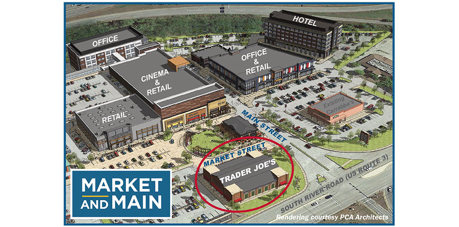 Civil Engineering Market and Main Mixed-Use Bedford, NH