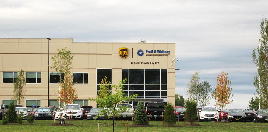 UPS Northeast Logistics Center for Pratt & Whitney Distribution - Londonderry, NH