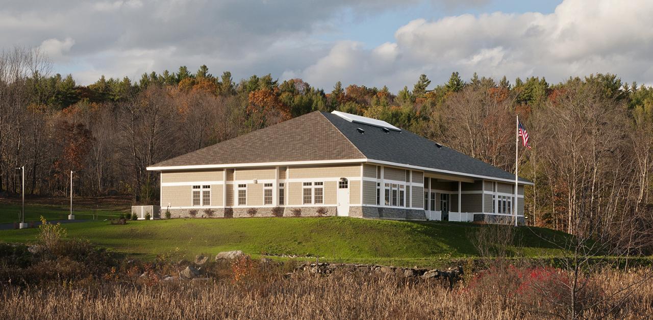 Peter Tennet designed Abbott Library