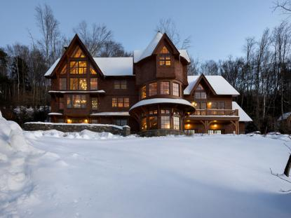 Honorable Mention: Alpine Ski Home