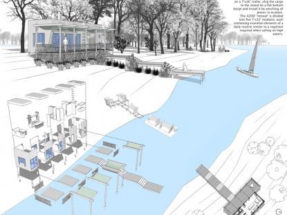 2013 AIANH Commendation Award, Unbuilt Architecture: Island Shack, Bart Sapeta AIA