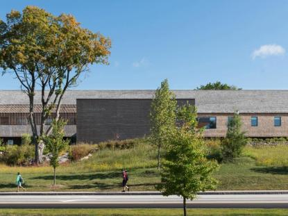 SNHU Gustafson Center, Perry Dean Rogers Partners Architects, photo: Chuck Choi Architectural Photography