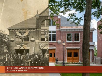 Rochester City Hall Annex, Oak Point Architects, photo: Randy Williams